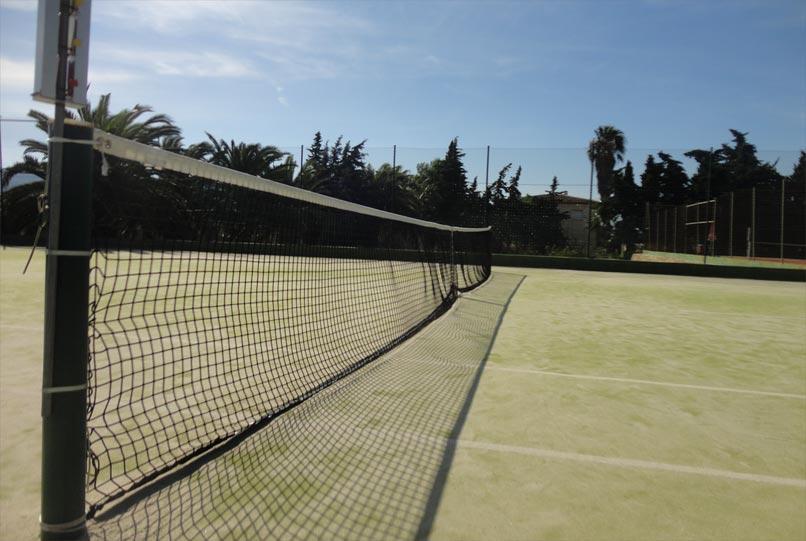 soft court number 3 tennis benidorm