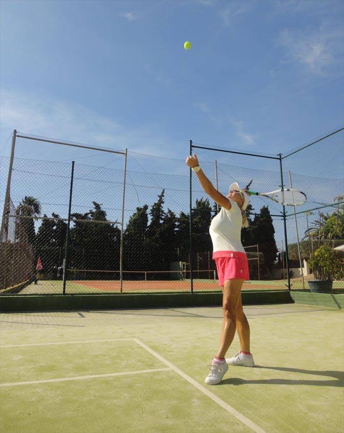 Benidorm tennis, costa blanca tennis