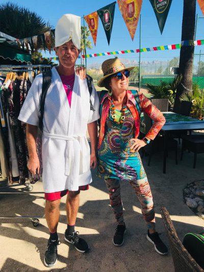Duo foto tennis carnaval 2019